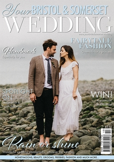 Cover of the October/November 2021 issue of Your Bristol & Somerset Wedding magazine