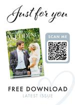 View a flyer to promote Your Surrey Wedding magazine