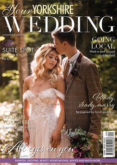 Cover of the September/October 2021 issue of Your Yorkshire Wedding magazine