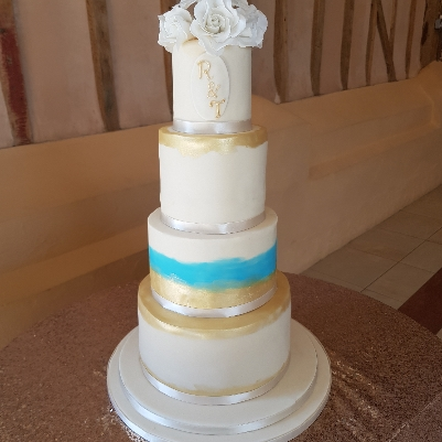 Cake specialist, Shenaz Lake-Thomas reveals how you can incorporate summer into your big-day bake