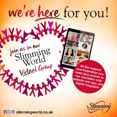 Slimming World has launched a new temporary virtual weight loss service