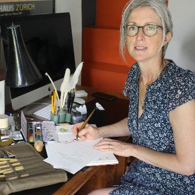 We interview local calligrapher, Kate Ridyard