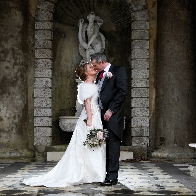 Anna and Dave celebrated their love for one another with a beautiful wedding at Wotton House