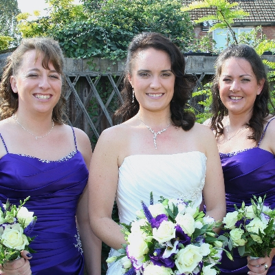 Choosing a hair style to suit multiple bridesmaids