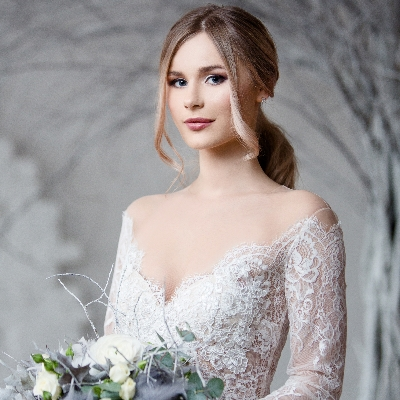 How to find a wedding dress suitable for the winter