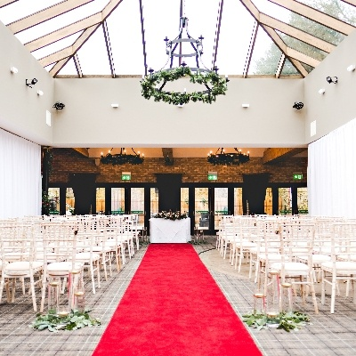 Say your vows at Lythe Hill Hotel & Spa