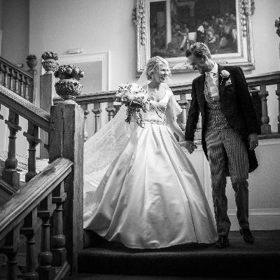 Tiffany and Tom had a fairytale wedding at the beautiful Farnham Castle