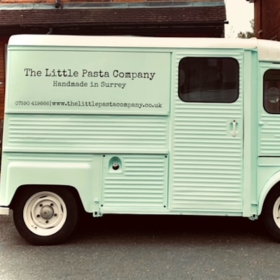 The Little Pasta Company has added a new mint green Citroen H van to its services