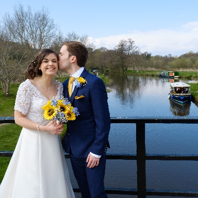 Charlotte and Ben planned a beautiful wedding at Holy Angel's Church and Weybourne House