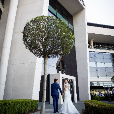 Tie the knot at the Art Deco-inspired Brooklands Hotel