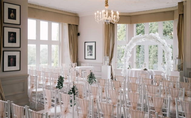 Say your vows at the 19th-century Hartsfield Manor