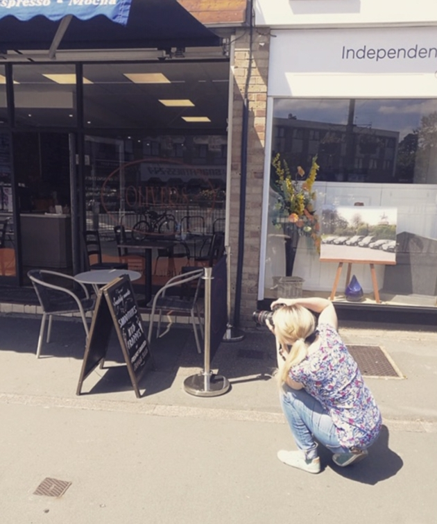 Julia Willis Photography has helped her local community by taking photographs of businesses