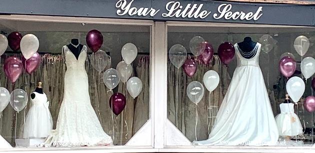 We interview Hindhead-based boutique, Your Little Secret Bridal Boutique