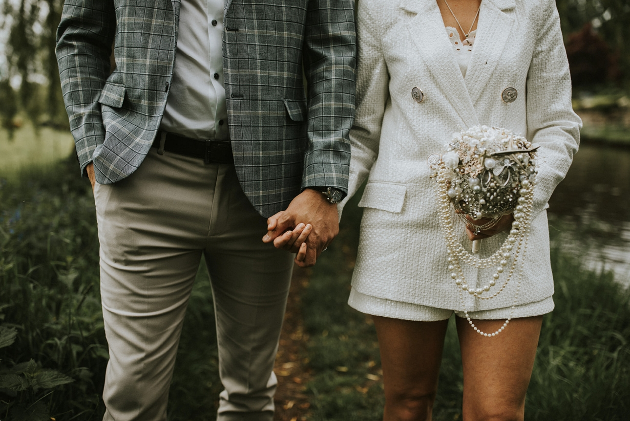 Newlywed's outfits