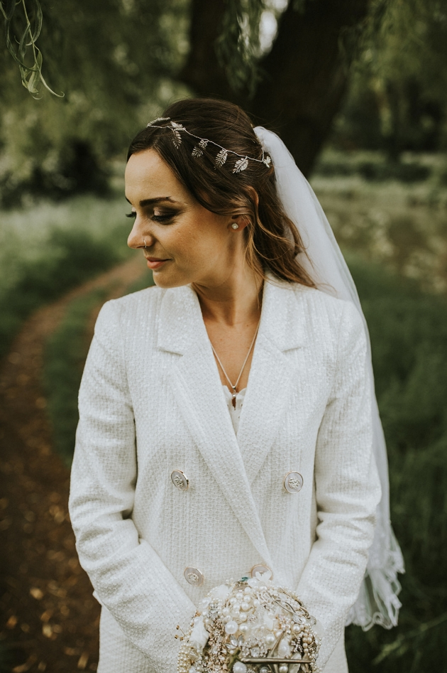 Bride's hair and make-up