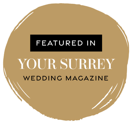 Featured in Your Surrey Wedding magazine